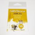NEXTackle 703 BL Dry Fly Hooks size 14
