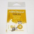 NEXTackle 703 BL Dry Fly Hooks size 18