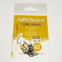 NEXTackle 720 BL Nymph Hooks size 10